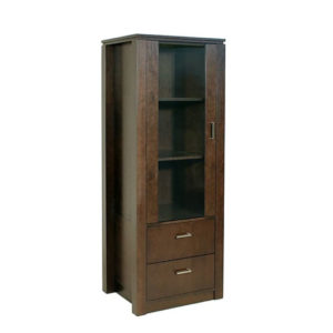 Home Office, Bookcases, Accents, Accent Furniture, birch, contemporary, display, made in canada, mid-century, modern, shelf, shelving, solid wood, walnut, VerBois, living room furniture ideas, custom made, solid wood furniture, Joe Bookcase