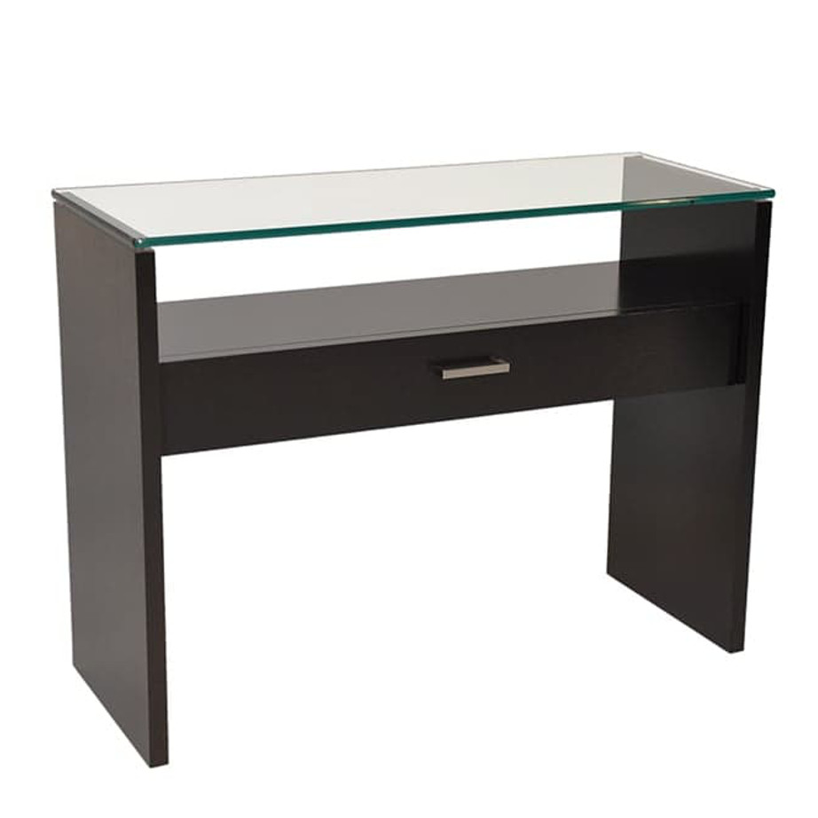 Lyon console table home envy furnishings solid wood for Sofa table canada