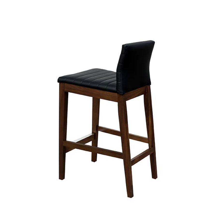 Dining Room, Bar Stools, bar, birch, contemporary, counter, custom chair, dining, fabric, island, made in canada, modern, parsons, solid wood, walnut, Counter, bar, Simple Modern Design, dining room ideas, Simple, Modern, Max Stool, Max Stool Back