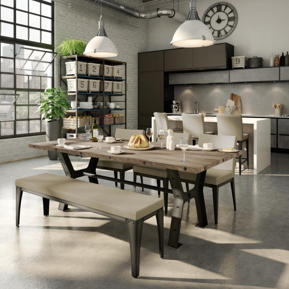 Parade table home envy furnishings solid wood furniture store - Dining room table canada ...