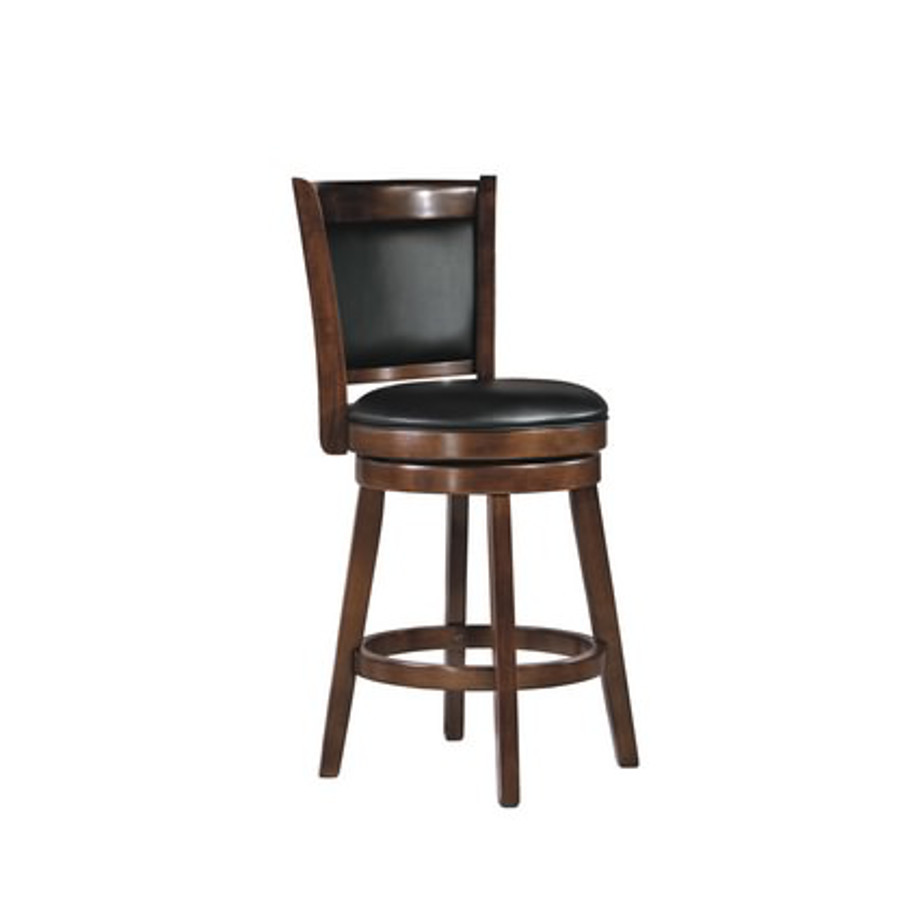 Porter Vinyl Back Stool Home Envy Furnishings Solid