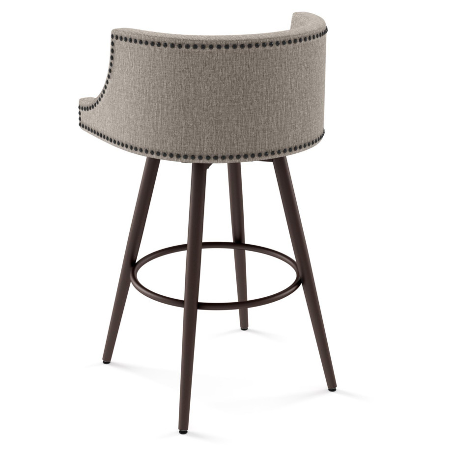 Radcliffe Swivel Stool Home Envy Furnishings Solid Wood