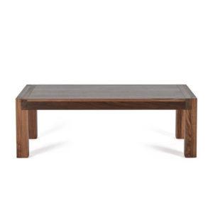solid walnut wood sim coffee table