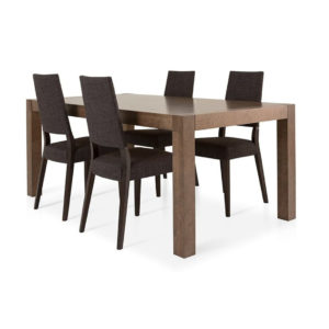 Dining Room, Leg Tables, birch, contemporary, made in canada, mid century, modern, solid wood, verbois, walnut, Modern, unique, mid century, several sizes, dining room ideas, VerBois, simple, raw, Sim Table, large simple legs, simple, several sizes, Sim Table Room, Sim Table A