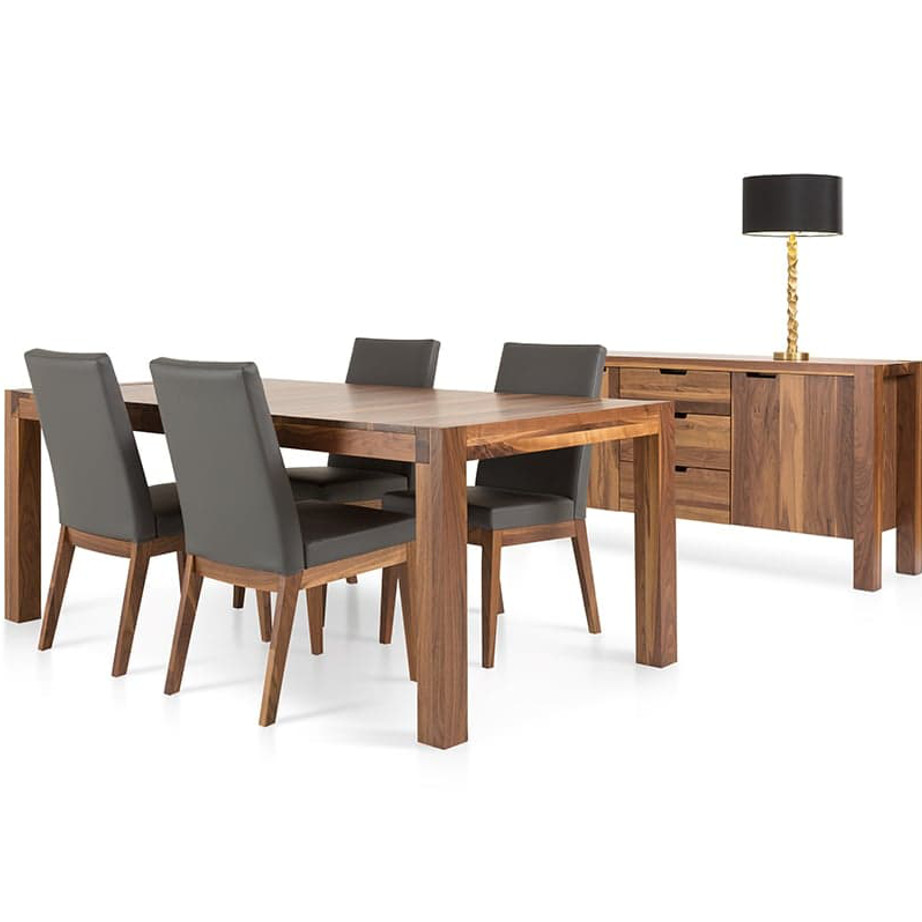 Dining Room, Leg Tables, birch, contemporary, made in canada, mid century, modern, solid wood, verbois, walnut, Modern, unique, mid century, several sizes, dining room ideas, VerBois, simple, raw, Sim Table, large simple legs, simple, several sizes, Sim Table Room