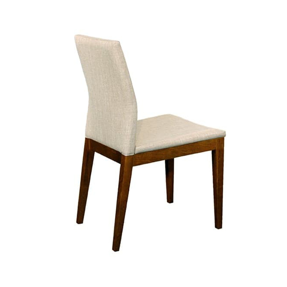 Dining Room, Benches, birch, contemporary, dining, dining bench, fabric, made in canada, modern, seating, solid wood, verbois, walnut, Simple Modern Design, dining room ideas, Simple, Modern, Slim 31 Dining Chair, Slim 31 Dining Chair Back