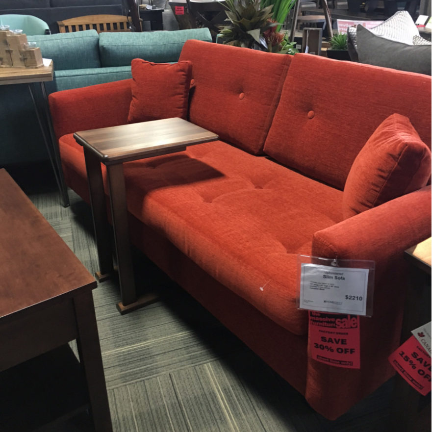 Floor Model Sofa Sale