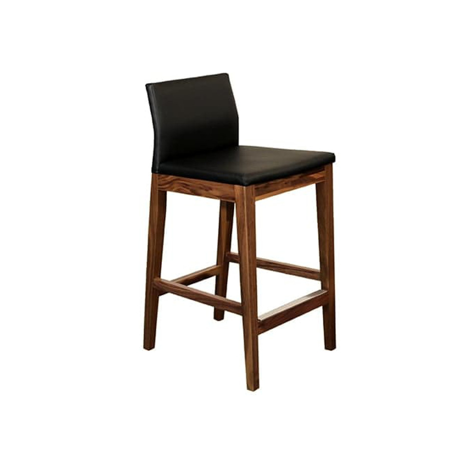Slim Bar Stool Home Envy Furnishings Solid Wood