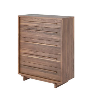 Cosy Chest,Bedroom, Dressers, bedroom furniture, birch, contemporary, drawers, made in canada, master bedroom, modern, solid wood, storage, walnut, Bed, master bedroom, solid wood, VerBois, custom made, modern, unique, customizable, solid wood furniture, Chests, storage,