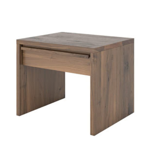 Step Night Stand, Walnut, Birch, made in Canada, VerBois, custom made, modern, Bed Room, contemporary, unique