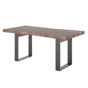 Occasional, End Table, Accents, Accent Furniture, birch, contemporary, glass, made in canada, mid century, modern, solid wood, walnut, living room ideas, unique, modern, verbois, custom stain, simple, Living Room, coffee table, Raw Metal, Metal, metal accents, THOR Coffee Table