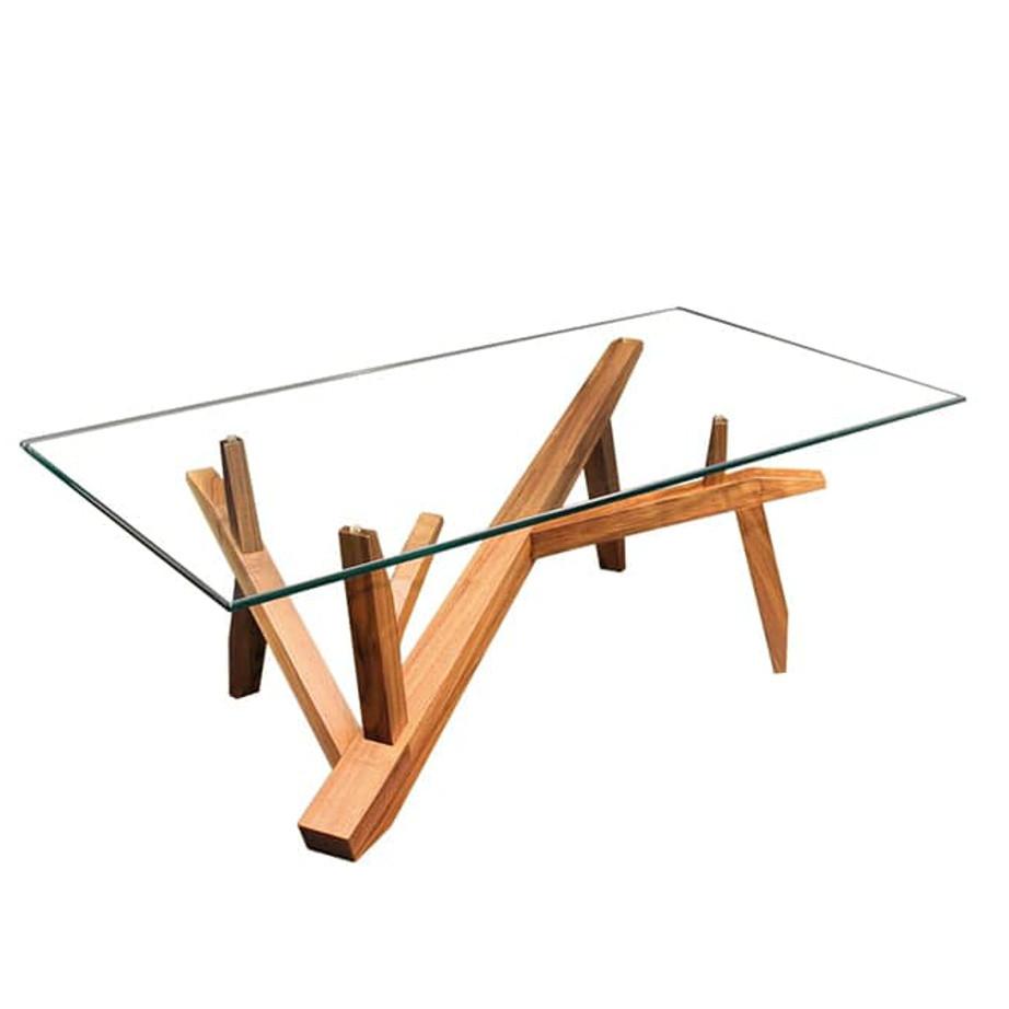 tree coffee table home envy furnishings solid wood