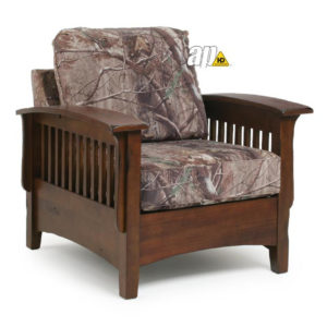 Westney mission chair, heirloom, stickley, fabric, cottage, rustic, farmouse, country, arts and crafts