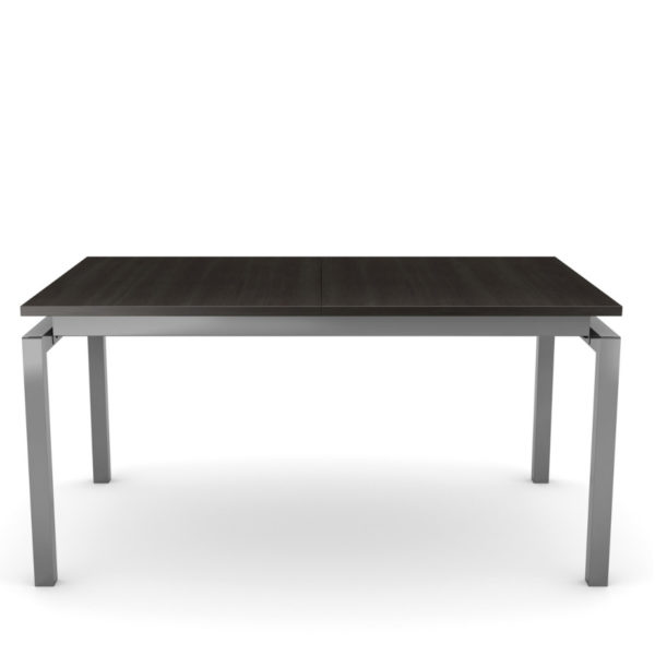 contemporary, urban, modern, metal, rustic wood, custom dining table, distressed wood, metal frame table, zoom table, amisco