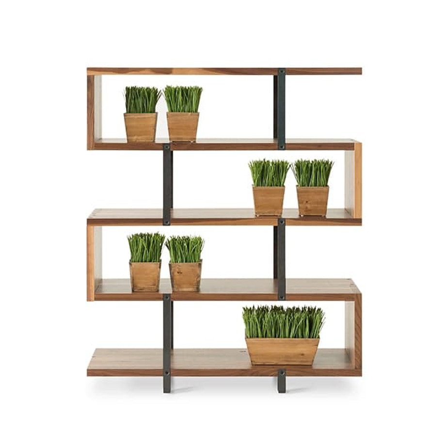Zoro Bookcase Home Envy Furnishings Solid Wood Furniture Store