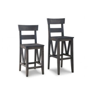 solid wood chattanooga stool for counter or bar