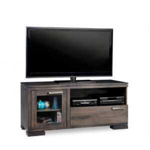 condo size small cordova tv console in solid wood