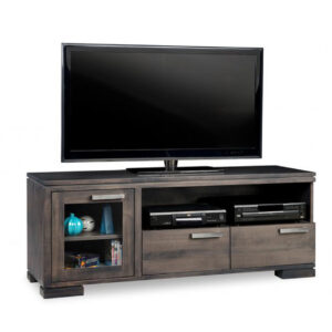 solid wood cordova tv console with storage