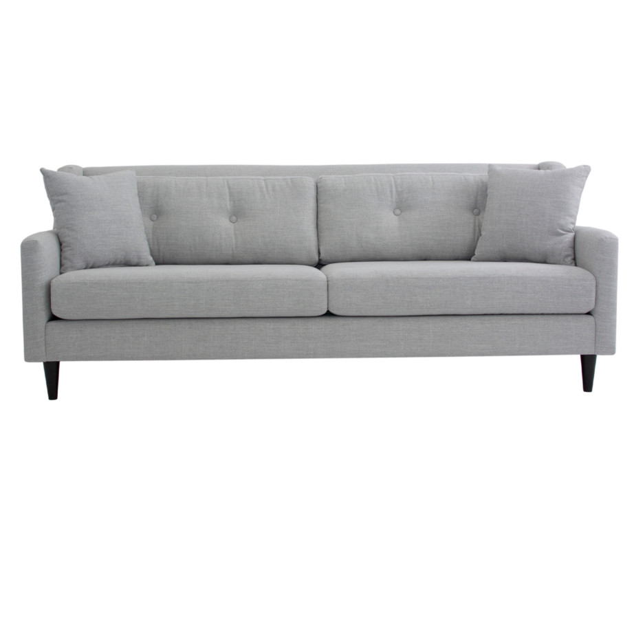 Mason White Leather Sofa: Home Envy Furnishings: Canadian Made