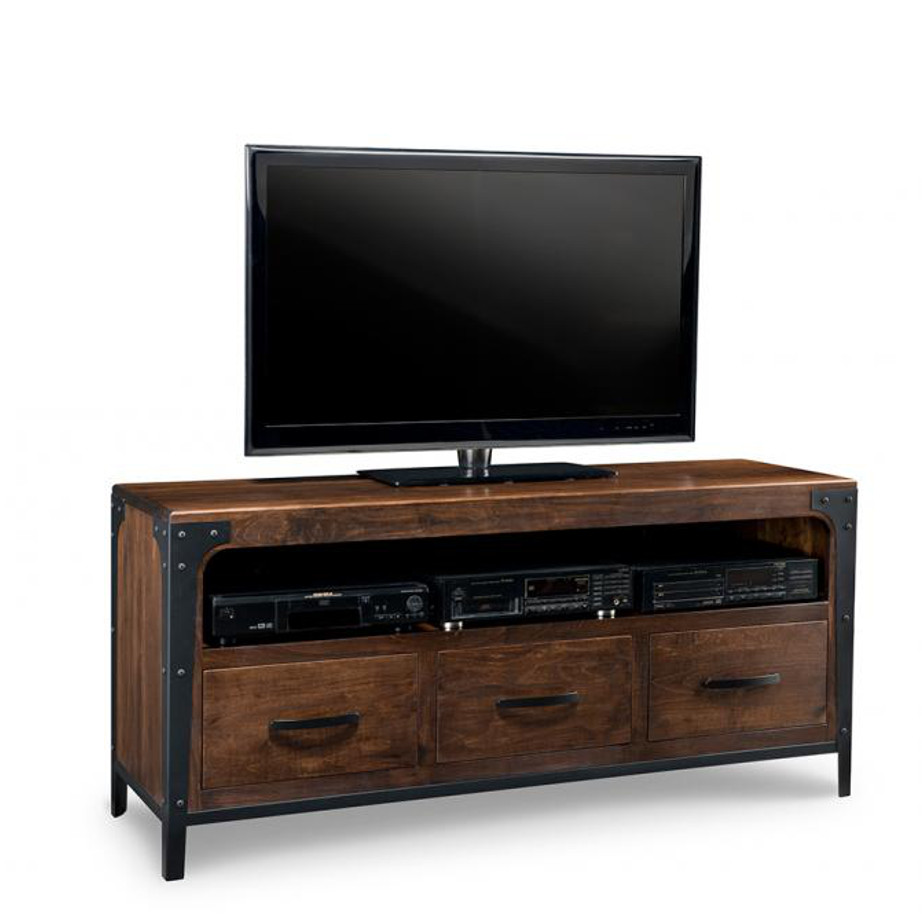 Portland 60 Tv Console Home Envy Furnishings Solid Wood