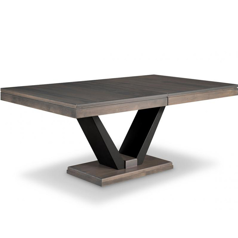 Portland trestle table home envy furnishings solid wood for Dining room tables portland or