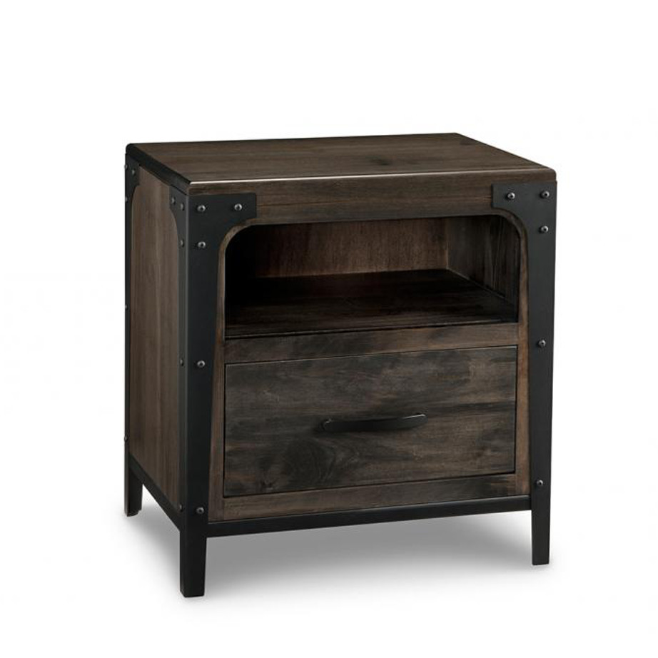 Portland 1 Drawer Night Stand Home Envy Furnishings