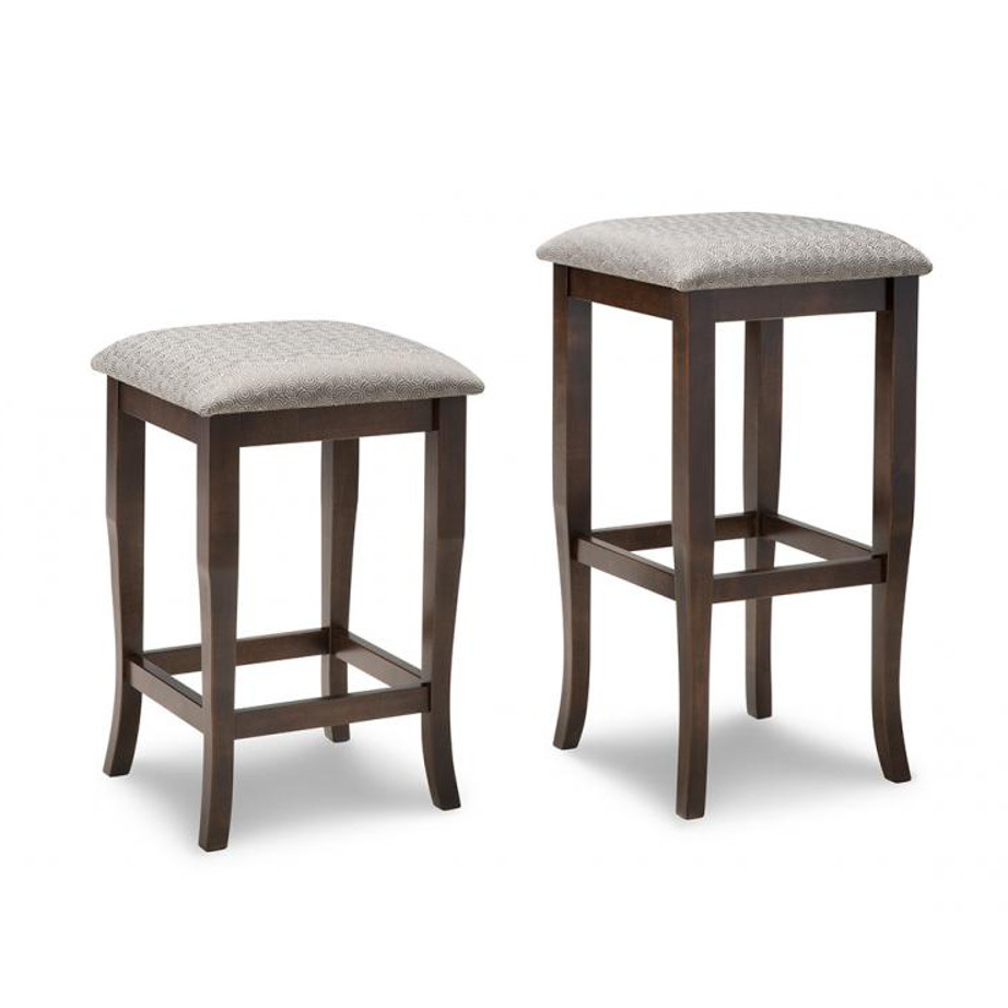 Yorkshire Backless Stool Home Envy Furnishings Solid