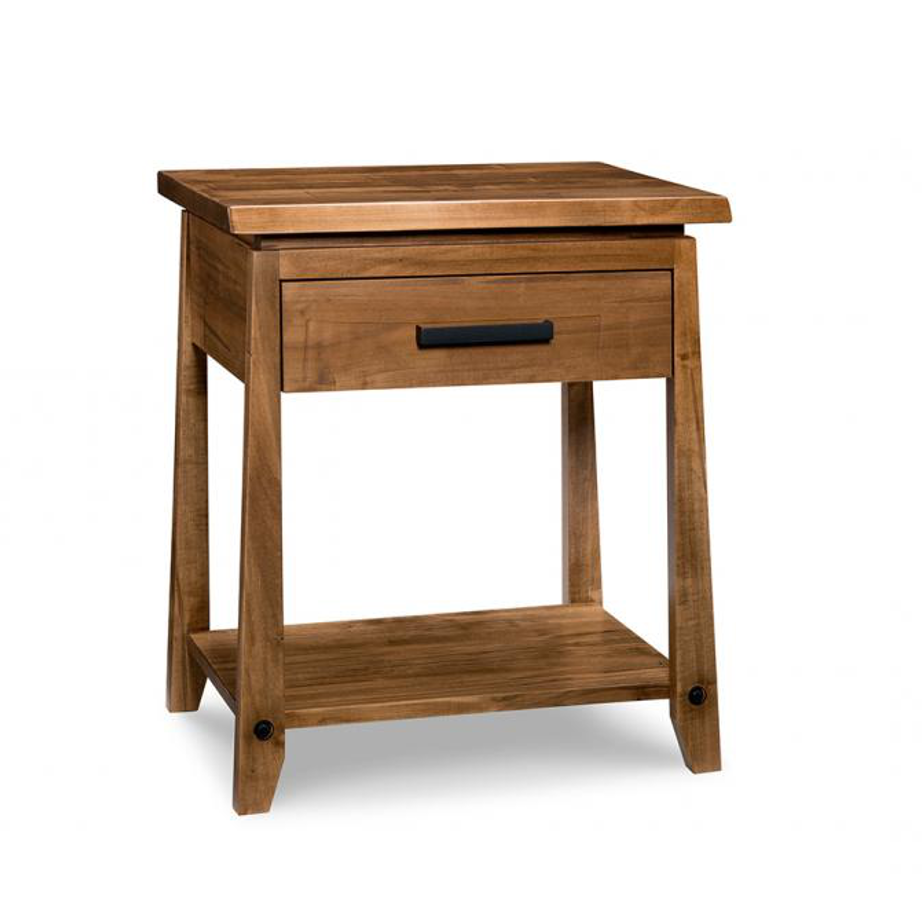 Pemberton night stand home envy furnishings solid wood furniture store Wooden furniture canada