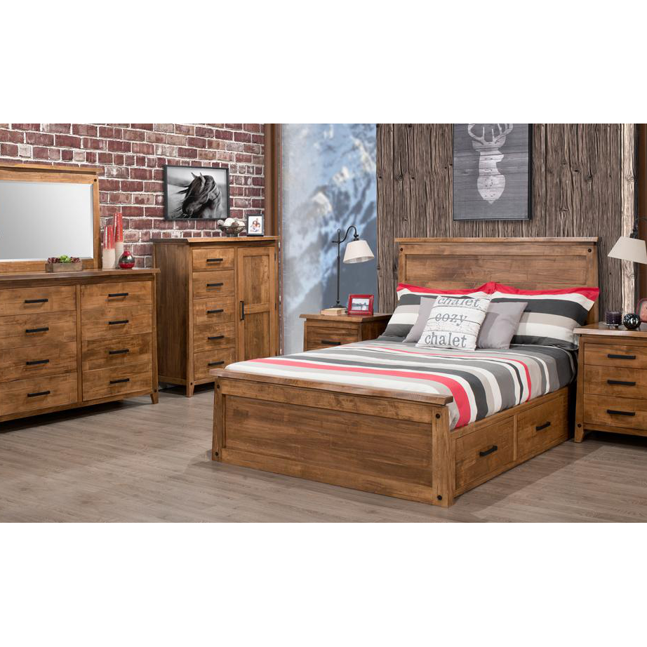 pemberton bed home envy furnishings solid wood 17378 | pemberton bedroom 2