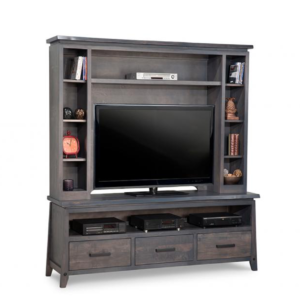 solid wood pemberton wall unit for big screen tv