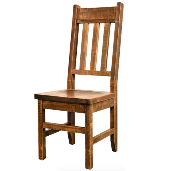 adirondack dining chair, contemporary, distressed, industrial, made in canada, maple, modern, ruff sawn, rustic, seating, solid wood, table bench, Dining Room, Tables, Trestle Tables, rustic wood kitchen furniture, modern kitchen furniture, kitchen furniture, custom built kitchen furniture, Adirondack, Chair
