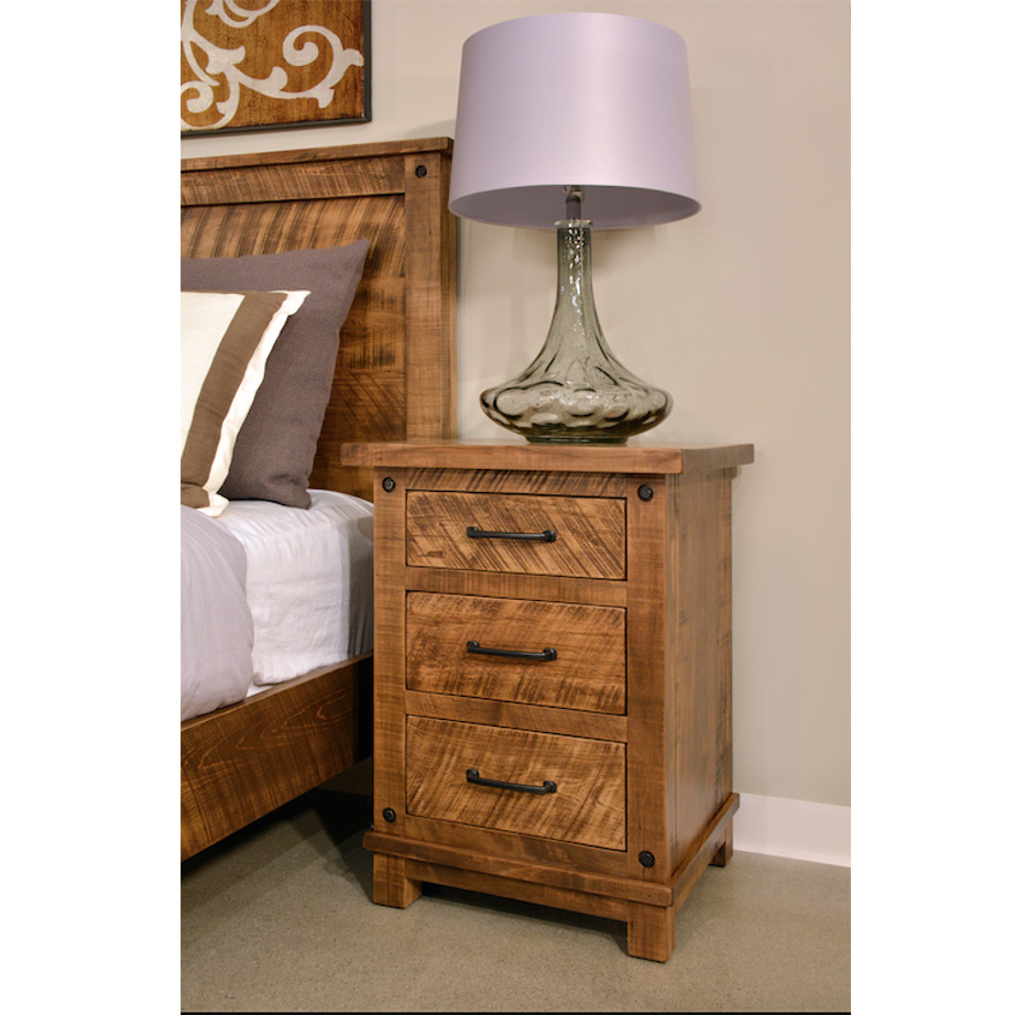Adirondack Night Stand Home Envy Furnishings Solid Wood Furniture Store