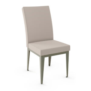 made in canada alto dining chair with metal frame