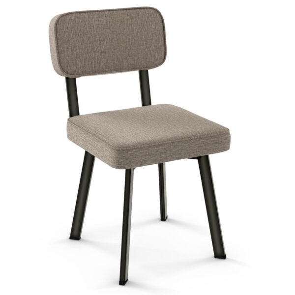 canadian made by amisco the brixton chair comes in custom fabrics