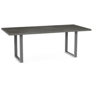 canadian made with a solid wood top the burton table is a great choice