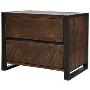 made in canada solid wood carson night stand