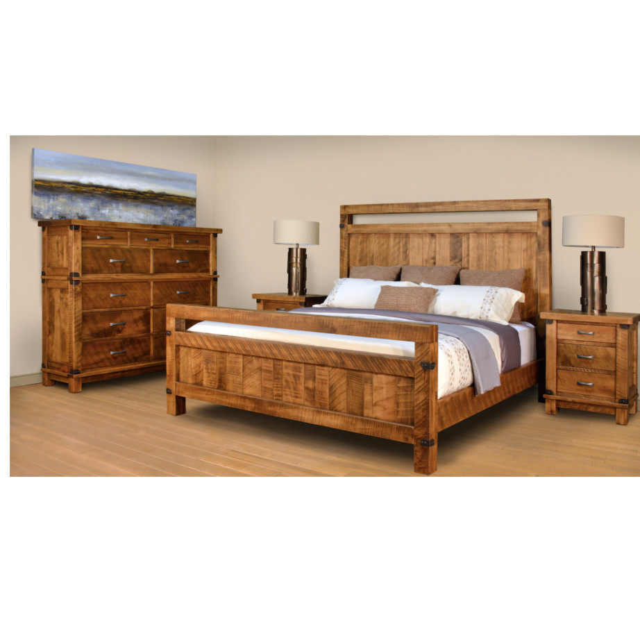 Galley bed home envy furnishings solid wood furniture store for Home furniture beds