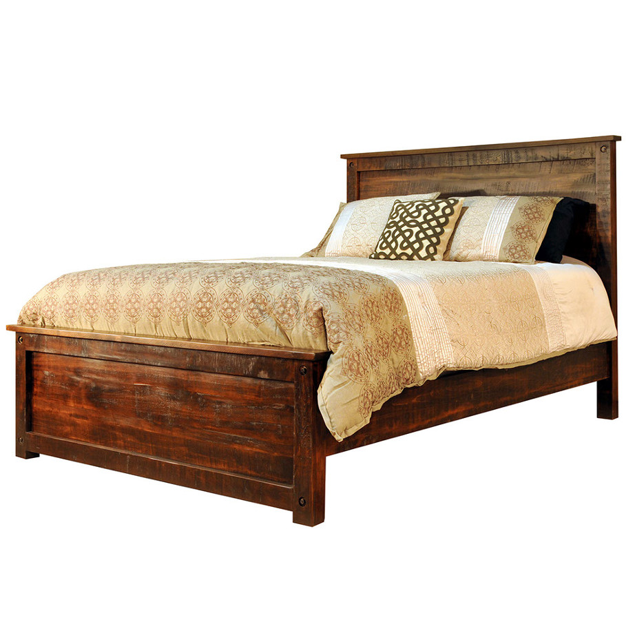 Muskoka bed home envy furnishings solid wood furniture for Solid wood furniture