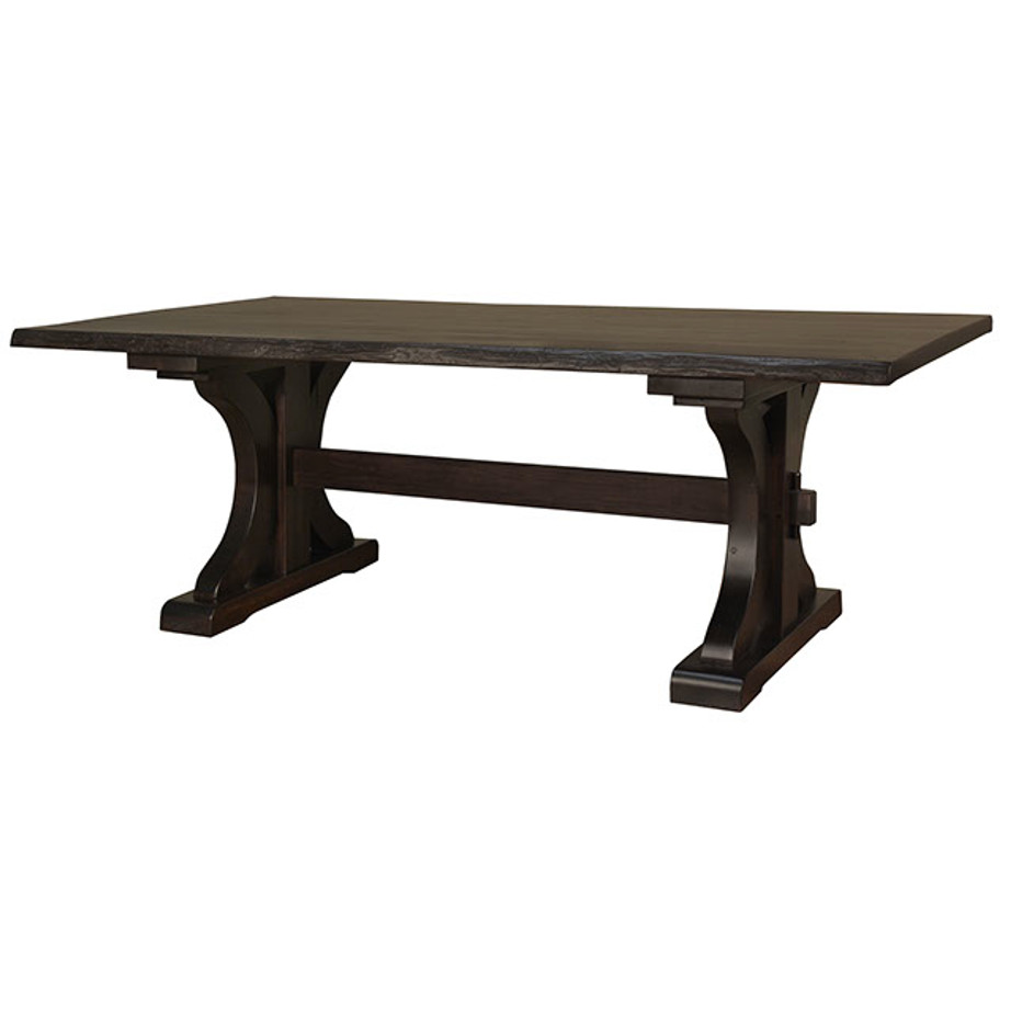 Rustic Carlisle Live Edge Table
