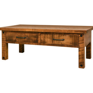 coffee table, solid wood, rustic maple, ruff sawn, modern, urban, contemporary, adirondack coffee table