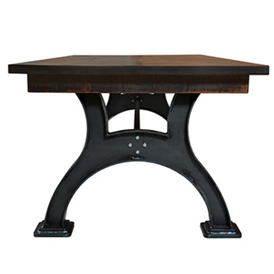 solid wood, rustic wood, reclaimed wood, ruff sawn, ruff sawn furniture, table, dining table, extension table, leaves, farmhouse, urban, modern, traditional, distressed table, industrial table