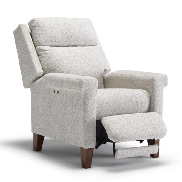 modern style prima recliner with chair look design