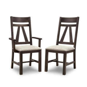 algoma dining chair, handstone furniture, solid wood furniture, made in canada