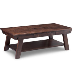 algoma coffee table, handstone furniture, made in canada, mennonite furniture, custom furniture, solid wood furniture