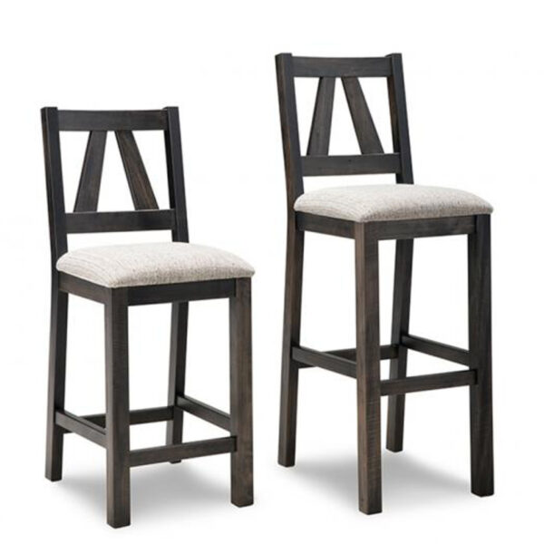 canadian made algoma stool in counter or bar height