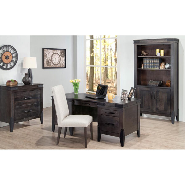 Chattanooga Office, home office furniture, handstone furniture, rustic cabinet, solid wood furniture