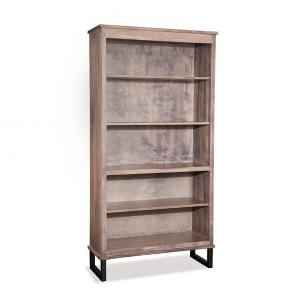 Cumberland Bookcase, shelving, custom shelf, home office furniture, handstone furniture, rustic cabinet, solid wood furniture