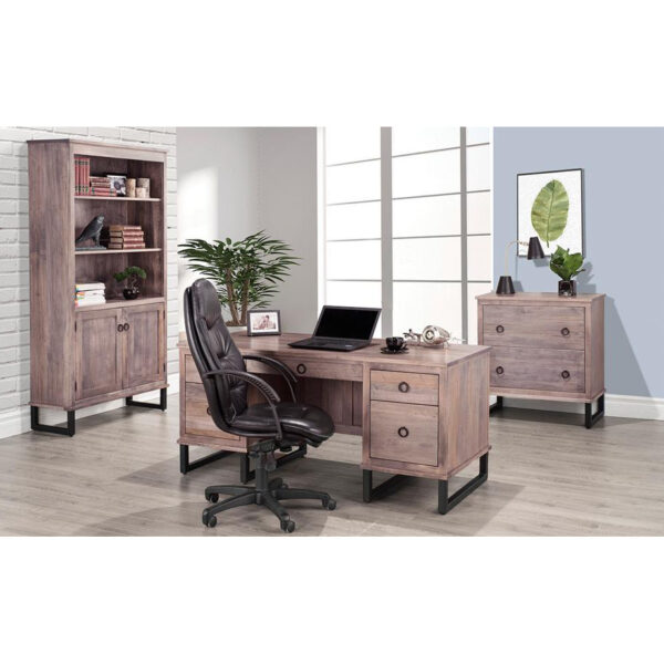 Cumberland Office, home office furniture, handstone furniture, rustic cabinet, solid wood furniture