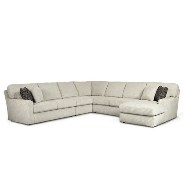 dovely sectional, best home furnishings, made in usa, custom sofa, custom sectional, custom furniture
