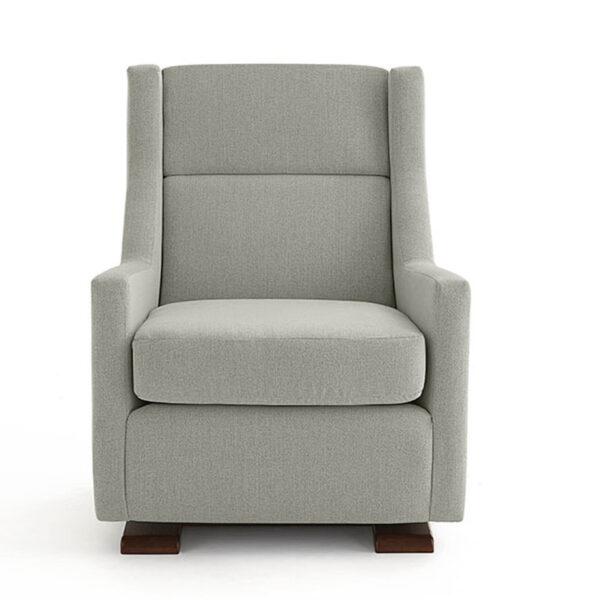 Mandini Glider Chair, best home furnishings, glider chair, custom chair, ottoman, custom furniture